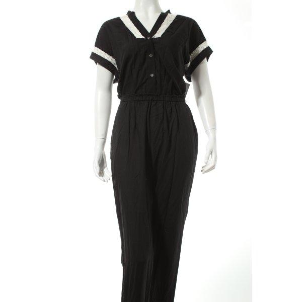 Liebeskind Jumpsuit schwarz-weiß Casual-Look