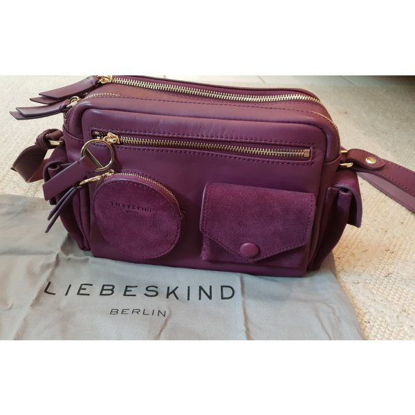 Liebeskind Crossbody bag gold-colored-lilac