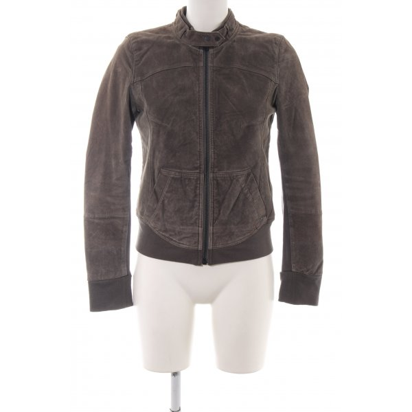 Liebeskind Leather Jacket brown casual look