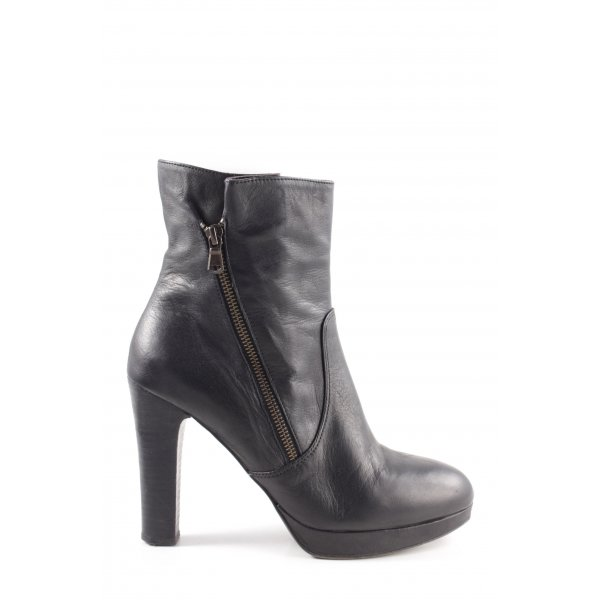 Liebeskind Zipper Booties black business style