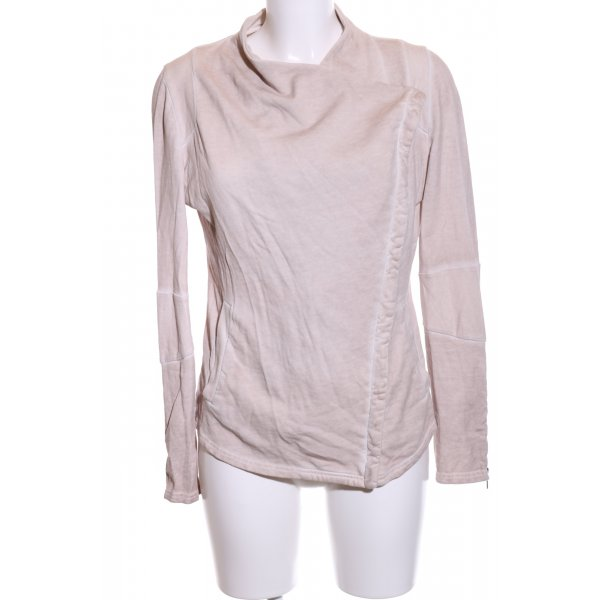 Liebeskind Sweat Jacket light grey flecked casual look