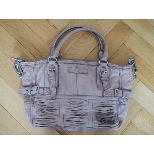 Liebeskind Handbag dusky pink leather