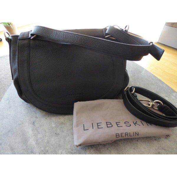 Liebeskind Crossbody bag black leather
