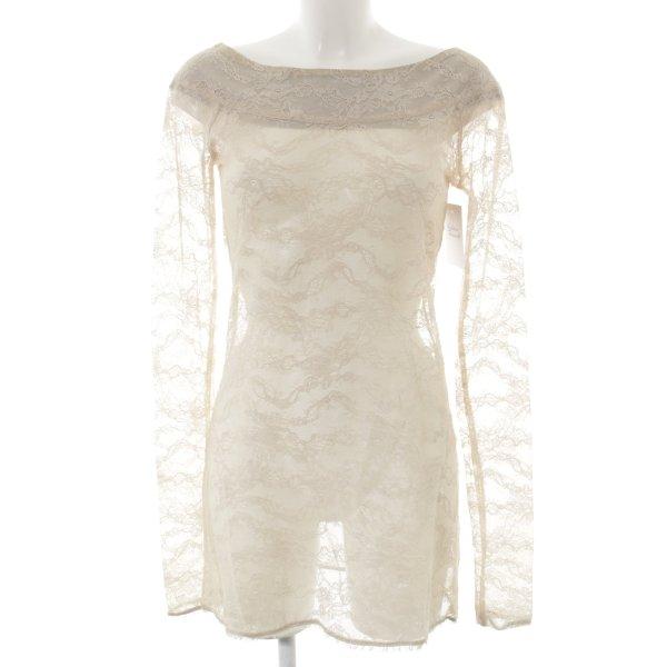 Lieblingsstück Longshirt creme Romantik-Look