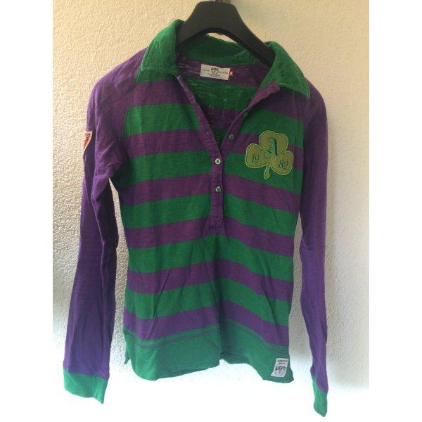 Alcott Camisa verde-lila
