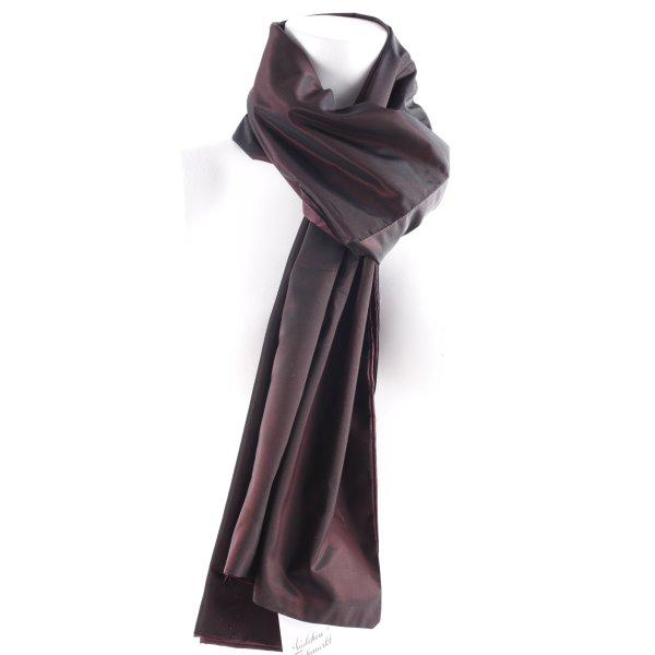Lilian Étole rouge mûre-noir élégant