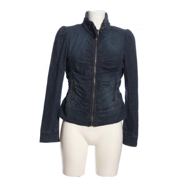 Linea Tesini Denim Jacket dark blue-blue