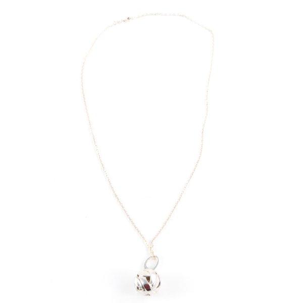 Liora Silberkette silberfarben-goldfarben Casual-Look