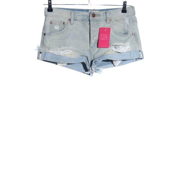 Lira Hot Pants blau Casual-Look