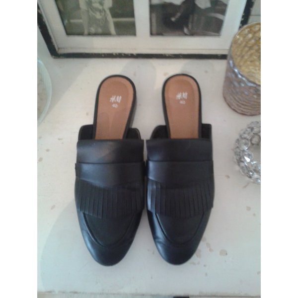 H&M Mules black