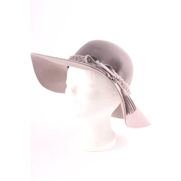Loevenich Zachte hoed bruin-lichtbruin casual uitstraling