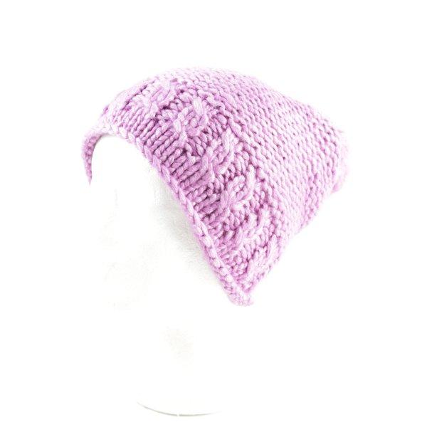 Loevenich Strickmütze pink Kuschel-Optik