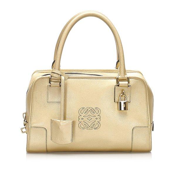 Loewe Amazona Leather Handbag
