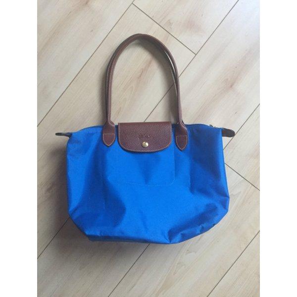 Longchamp Draagtas blauw Nylon