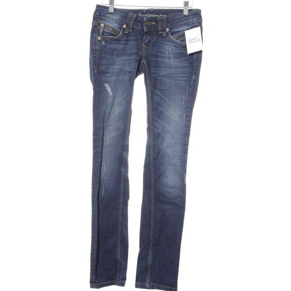Lost in Paradise Slim Jeans blau Casual-Look