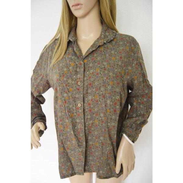 Louis London Vintage Bluse gr.42 blumen