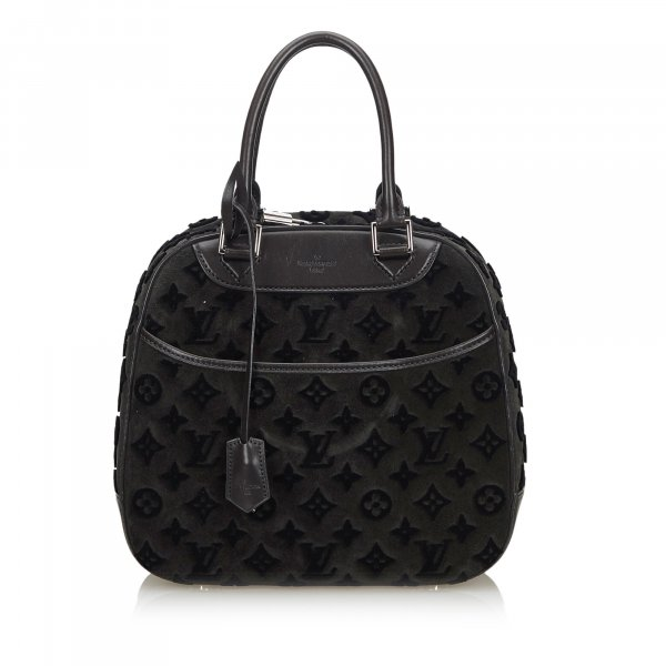 Louis Vuitton 2013 Monogram Tuffetage Deauville Cube