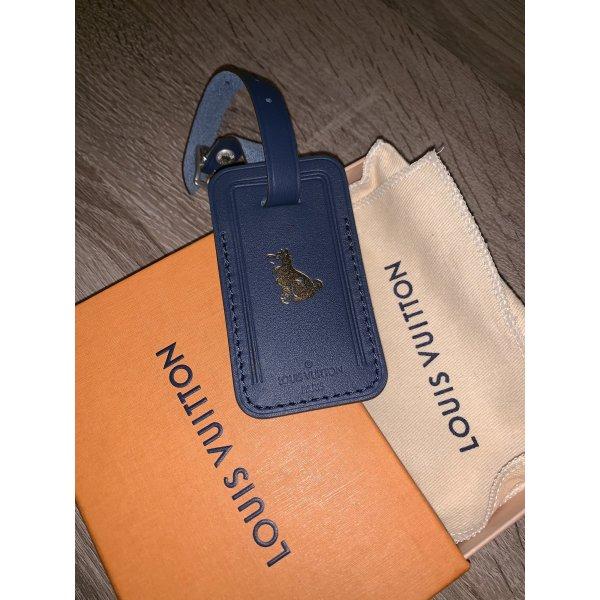 Louis Vuitton Adressanhänger Hund Limited Edition blau