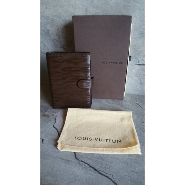 Louis Vuitton Agenda PM Epi Leder