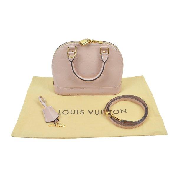 Louis Vuitton Alma BB Mon. Vernis Handtasche @mylovelyboutique.com