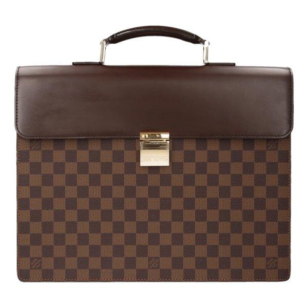 Louis Vuitton Altona PM Aktentasche aus Damier Ebene Canvas Tasche Handtasche