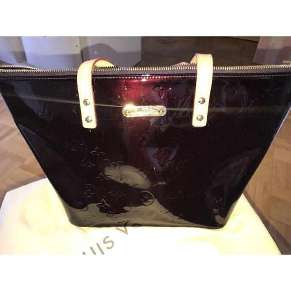 Louis Vuitton Amarante Vernis Bellevue PM Tasche