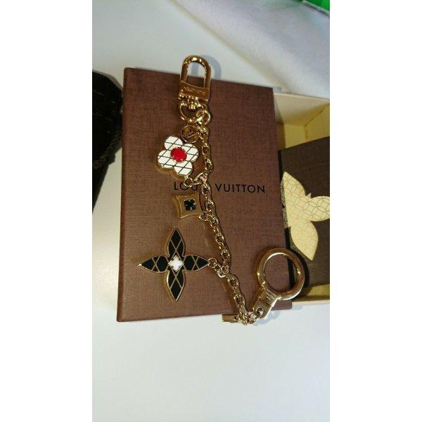Louis-Vuitton-Armband-Malletage-Blumen-Charme-Kette-Tasche-Neu-M67384