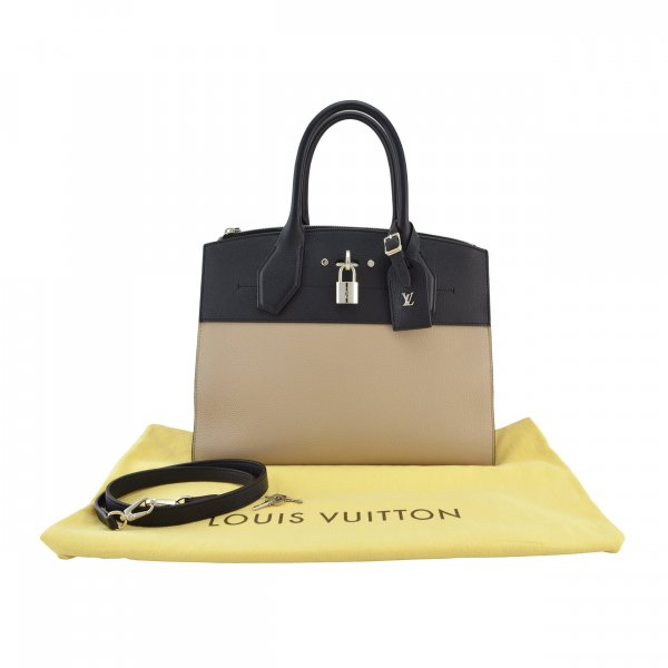 Louis Vuitton City Steamer Tote MM @mylovelyboutique.com