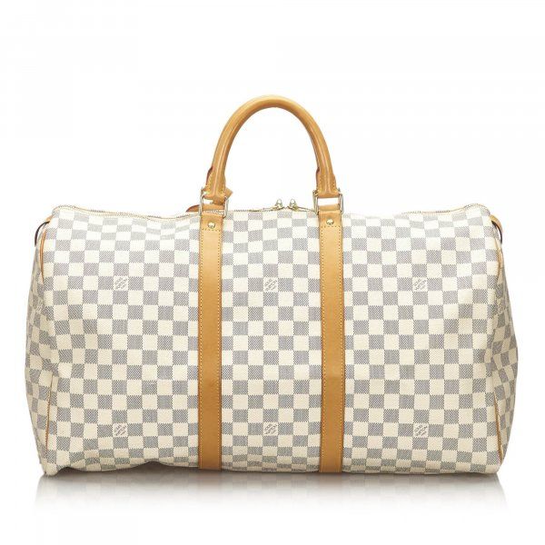 Louis Vuitton Damier Azur Keepall 50
