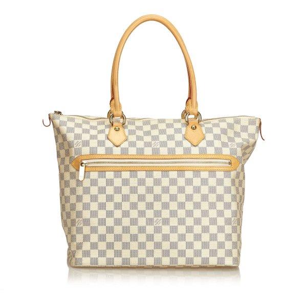 Louis Vuitton Damier Azur Saleya GM