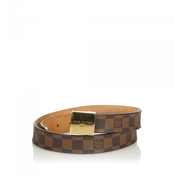 Louis Vuitton Damier Ebene San Tulle Belt