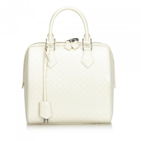 Louis Vuitton Damier Facette Speedy Cube PM