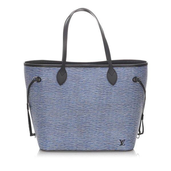 Louis Vuitton Epi Denim Neverfull MM
