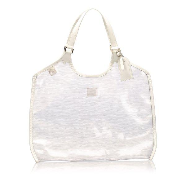 Louis Vuitton Borsetta bianco Clorofibra