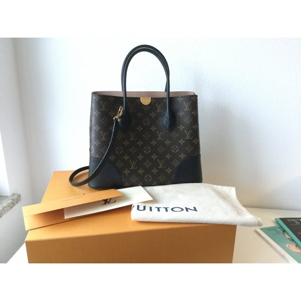 Louis Vuitton Carry Bag brown-black