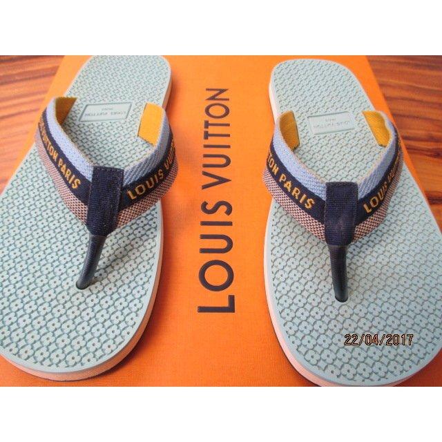 Louis Vuitton Flip Flops Gr. 40