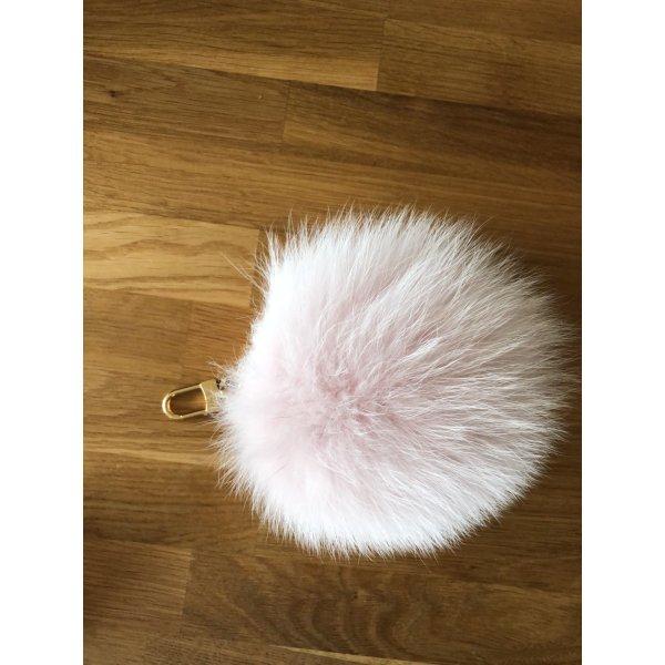 Louis Vuitton fuzzy bubble Bag charm