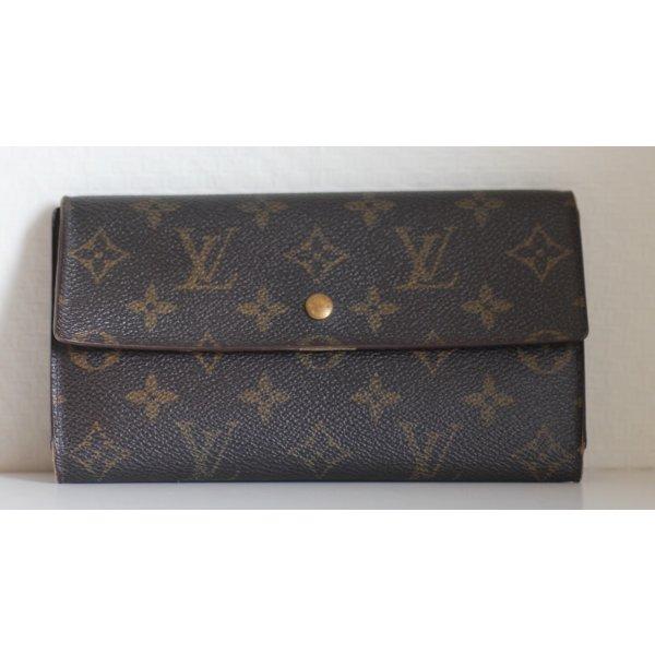 Louis Vuitton Geldbörse, Portemonaie, braun