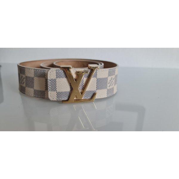 Louis Vuitton Gürtel Damier Azur Gr.90