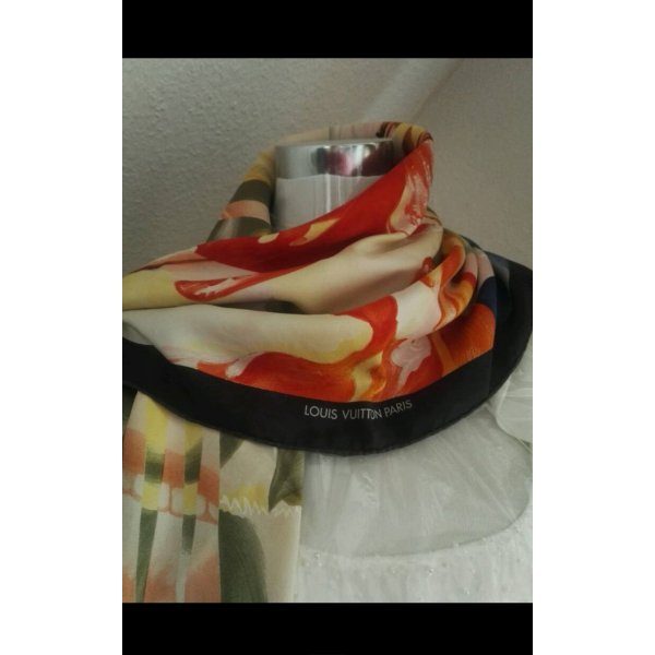 Louis Vuitton - James Rosenquist Silk Scarf Limited Edition Vintage Signed