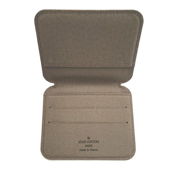 Louis Vuitton Kaartetui grijs-bruin