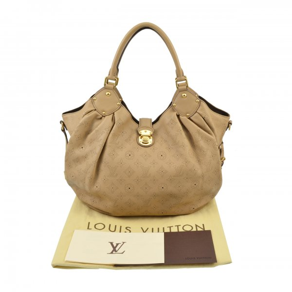 Louis Vuitton Mahina L Leder Handtasche @mylovelyboutique.com