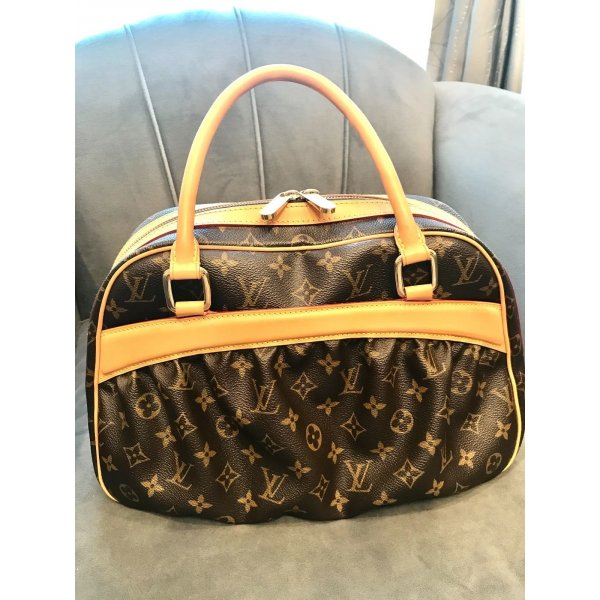 LOUIS VUITTON Mizi Handbag Bag Monogram Canvas M40058