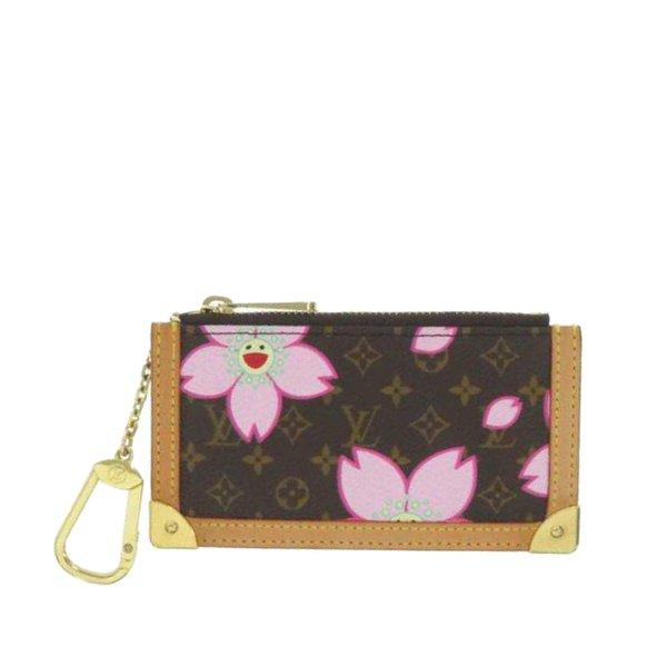 Louis Vuitton Monogram Cherry Blossom Pochette Coin Pouch