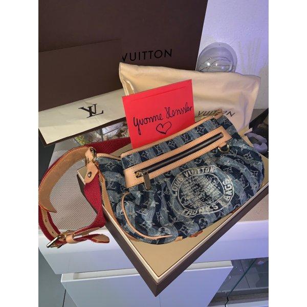 Louis Vuitton Monogram Denim Rayures blau Limited Edition Fullset