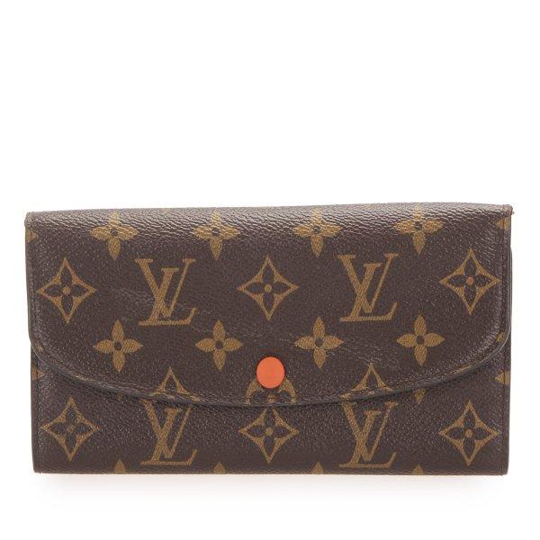 Louis Vuitton Monogram Emilie Long Wallet