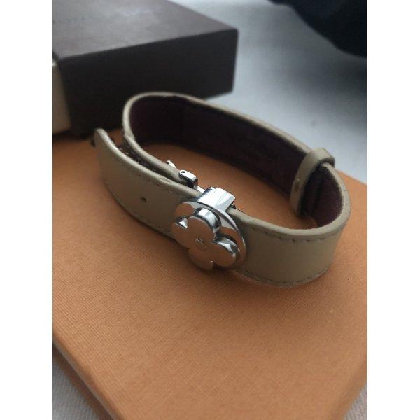 Louis Vuitton Monogram  flower full essentials Leder Schmuck Armband