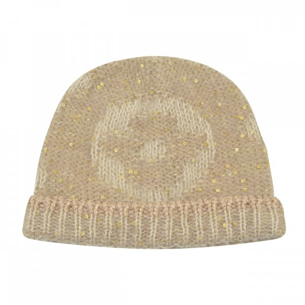 Louis Vuitton Monogram Glitter Bonnet Wollmütze @mylovelyboutique.com