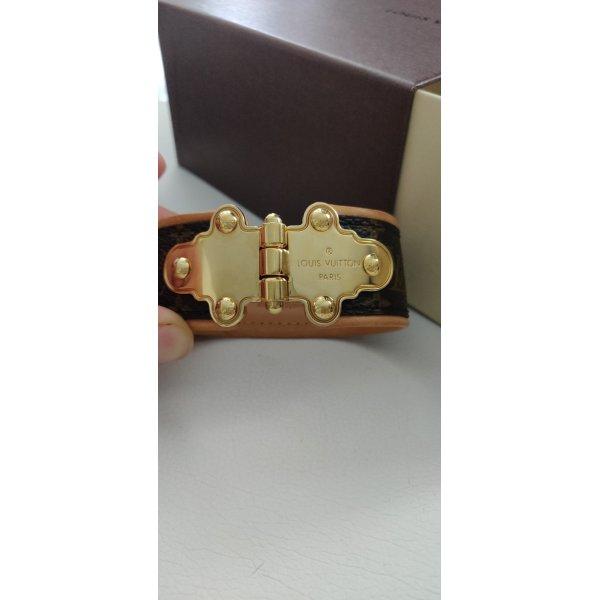 Louis Vuitton Monogram Leder-Armband