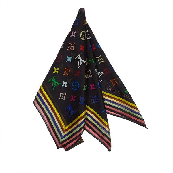 Louis Vuitton Monogram Mini Silk Scarf